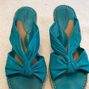 "3"" Comfy Turquoise shoes"